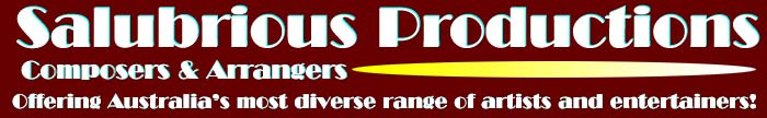 Salubrious Productions Composers and Arrangers Page