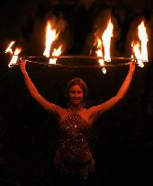 Fire Artists, Fire Hula